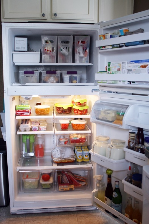 organized-refrigerator Residential Cleaning